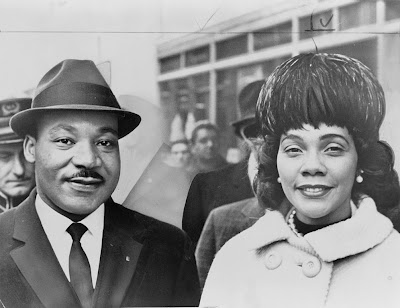 Martin Luther and Corretta Scott King