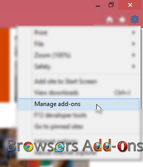 How To Enable Disable Browser Add Ons In Ie 8 Internet
