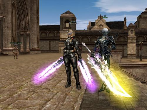 armas personagens Lineage II Hellbound