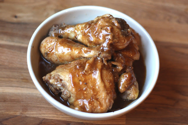 Ginger and Sesame Oil Chicken recipe by Barefeet In The Kitchen