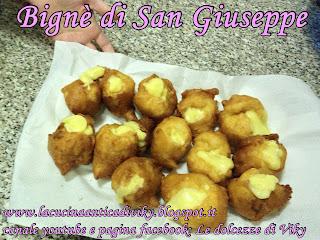 bigne' di san giuseppe (+ video ricetta)