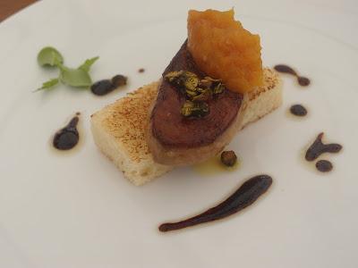 Pan-fried duck foie gras