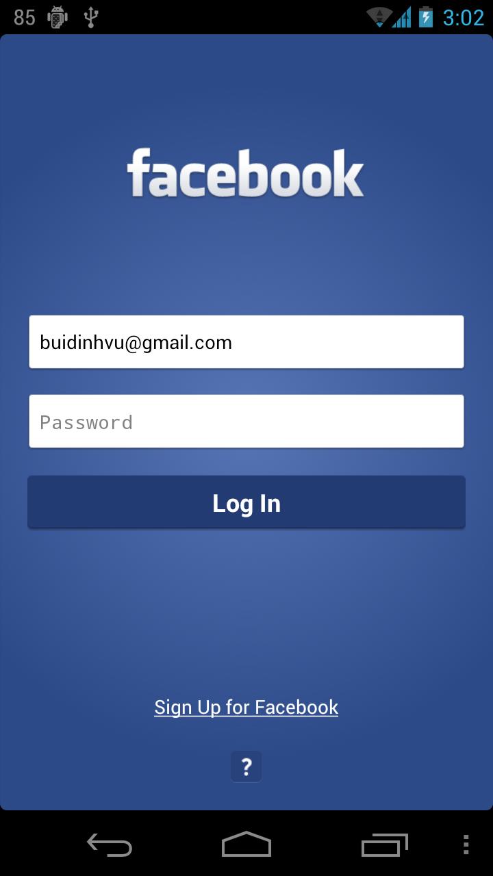 Facebook Log In images