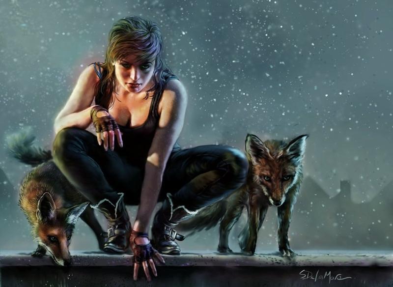 Steve De La Mare | British Digital Fantasy painter