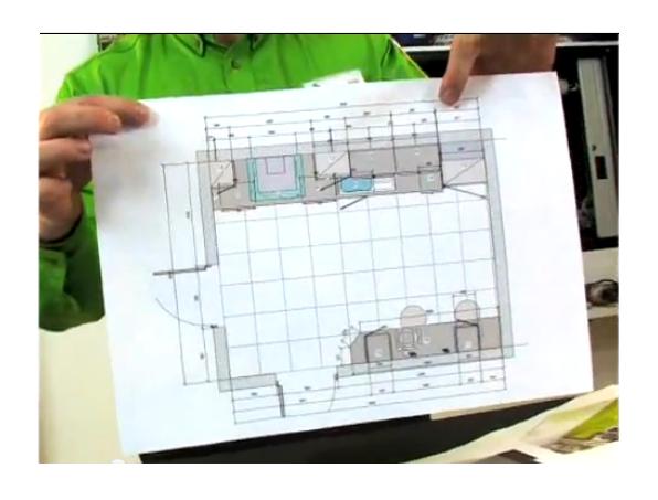 Como hacer mueble de cocina melamina 1 h galo usted for Como hacer un plano de una cocina
