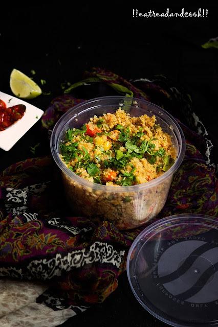 how to cook dalia upma with vegtables recipe