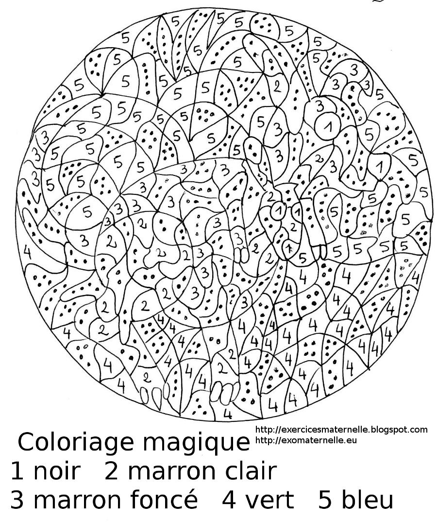 coloriages magiques l cole pour les parents