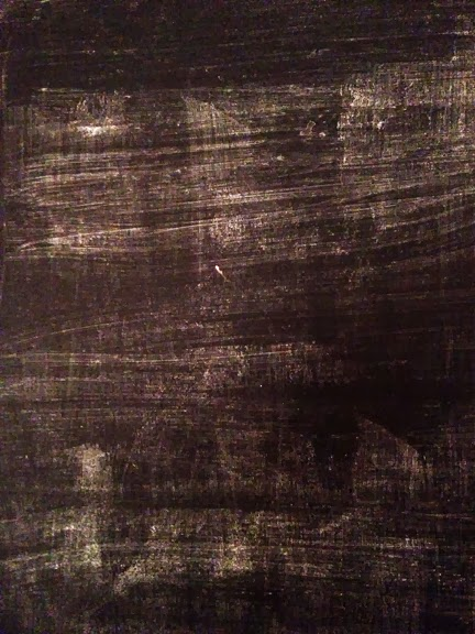 Serendipitous Art: Black cloth