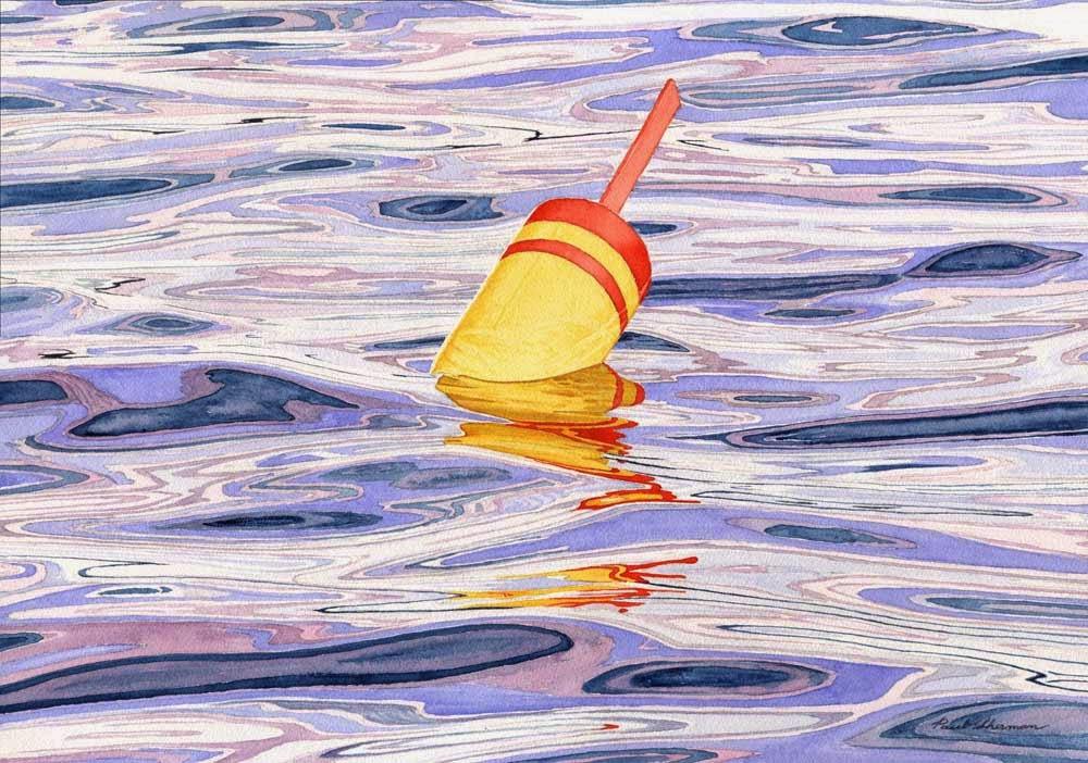 """Maine Buoy"" by Paul Sherman"