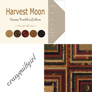 Moda HARVEST MOON Quilt Fabric by Kansas Troubles Quilters