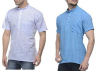Men's Branded Kurta at 50% Off + 20% Off + 35% Cashback at Rs 279 Via Fashion and you :buytoearn