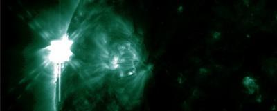 LLAMARADA SOLAR CLASE M1.7, 08 DE NOVIEMBRE 2012