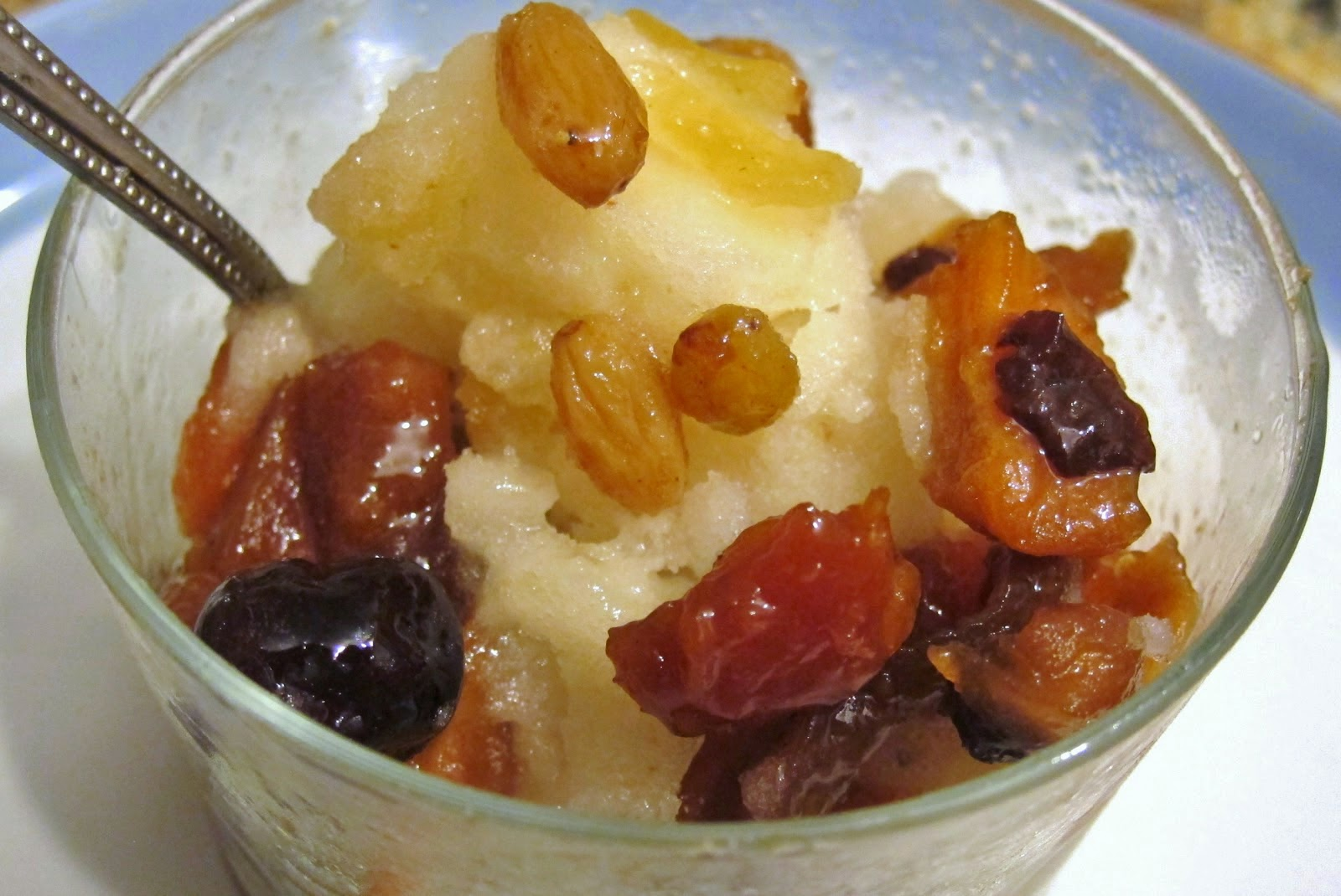 Compota de fruta para bajar de peso