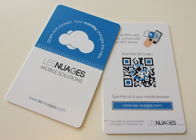 Carte de visite NFC by Nexence