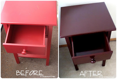 Fix up a thrifted table with spray paint