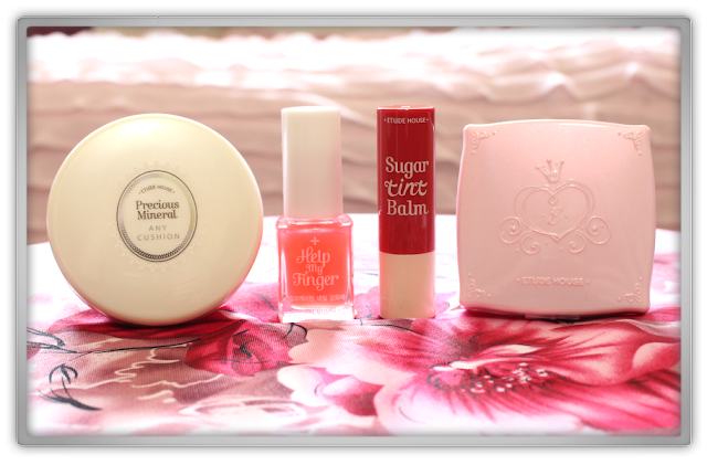 JOLSE on Ebay Etude House Haul Review 2015 beauty blogger any cushion moist help Strengthener Blooming Blusher or201 Sugar Tint Balm apple