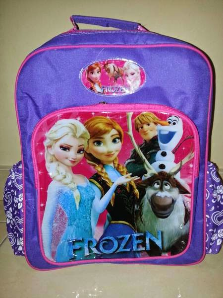 Tas ransel untuk anak sekolah elsa frozen