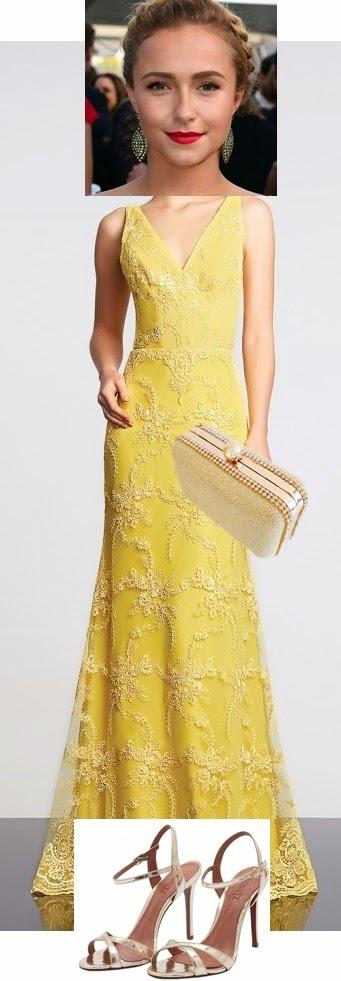 Bolsa Dourada Com Vestido Vermelho : Bolsa sand?lia e maquiagem para usar com vestido de festa