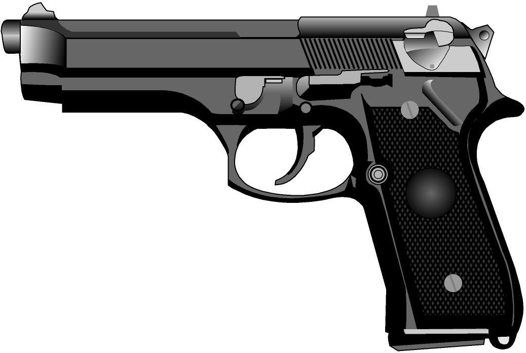 clipart guns pictures - photo #34