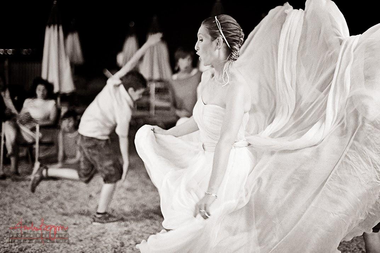 balli matrimonio agli Stone Beach Cogoleto