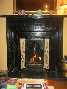 Our Lovely Coal Fireplace