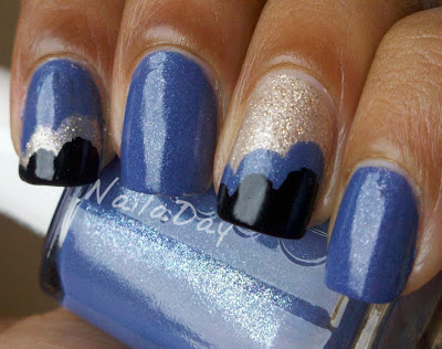 NailaDay: Essie Smooth Sailing Clouds