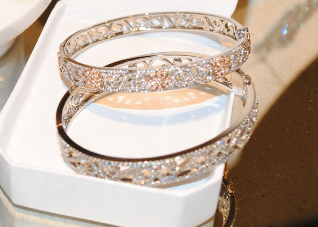 Tiffany Enchant bracelets in platinum and 18 karat rose gold