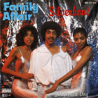 FAMILY AFFAIR  - Silverboat ,Vinyl 7\