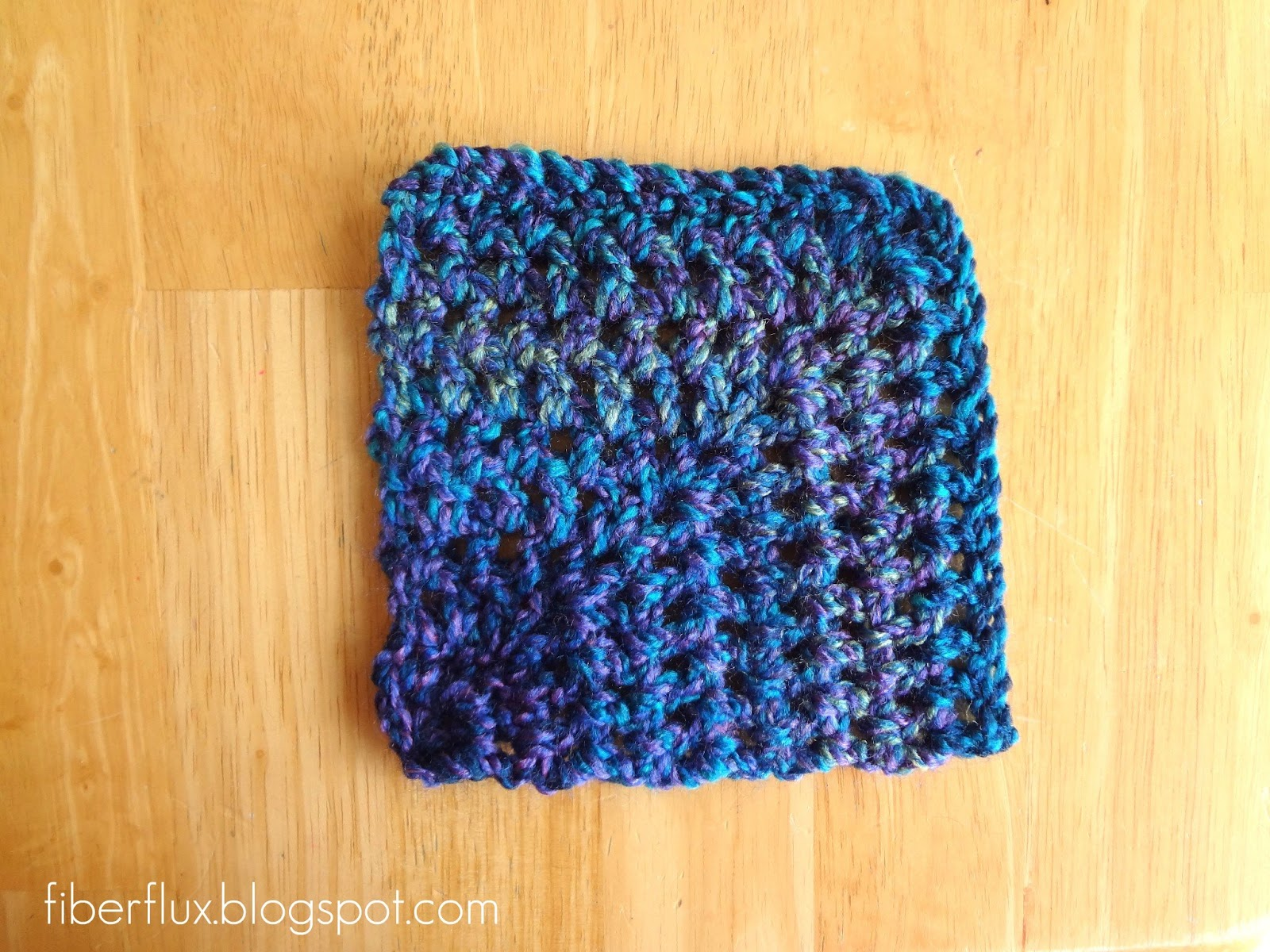 Free Pattern Mitered Dishcloth Knitting : Fiber Flux: How to Crochet Mitered Squares