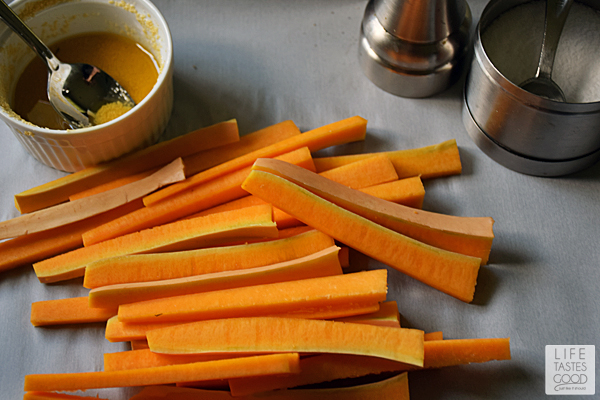 Honey Baked Butternut Squash Fries | by Life Tastes Good #LTGrecipes