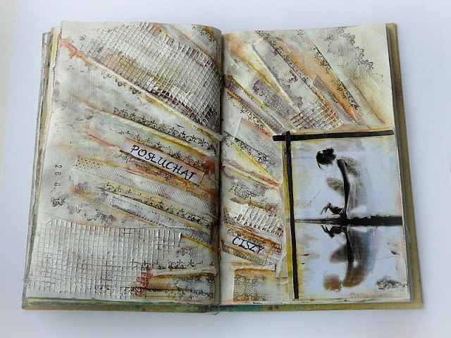 art journal - cisza