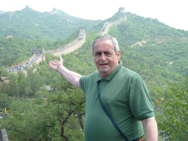 VISITANDO LA GRAN MURALLA CHINA