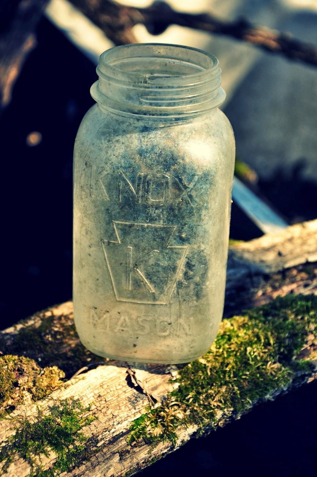 Knox Mason Jar