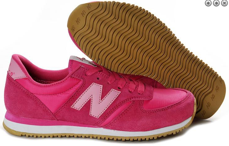 uk availability 2fef2 9c21d New Balance NB 420 Rosa Röd Brun Tjej Skor