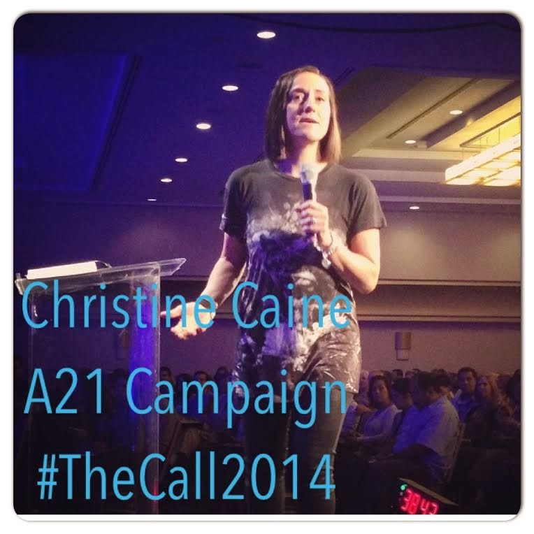 Christine Caine - A21 Campaign...she's the bee's knees!