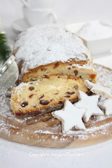 Stollen - Božićni kruh s voćem