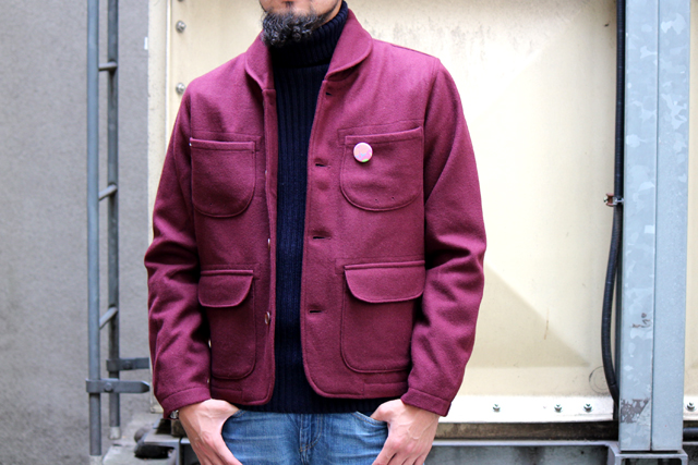 Universalworks labourjacket 14fw 14aw northseaclothing thehillside