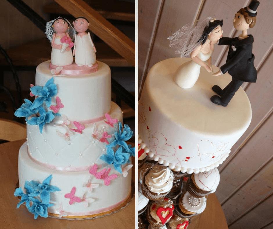 интересни фигурки за сватбената торта от фондан