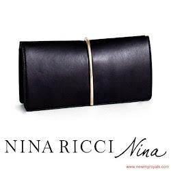 Queen Lezita's Style NINA RICCI Clutch Bag and PRADA Pumps