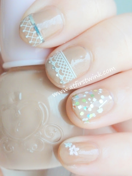 Etude House Sweet Lace Nail Seals - White One Piece