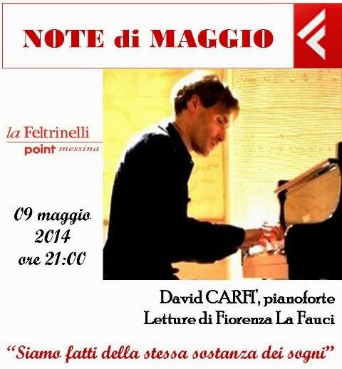 CONCERTO DI DAVID CARFI' AL FELTRINELLI POINT