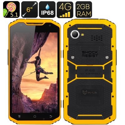Waterproof smartphone with IP68 rating