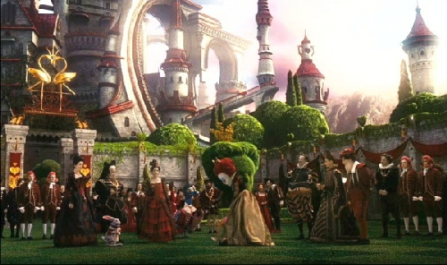 Queen of Hearts castle filmprincesses.blogspot.com