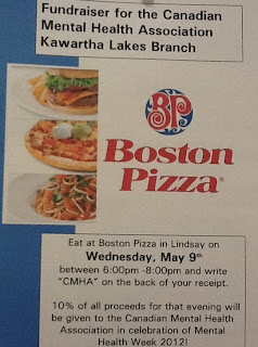 image CMHA Boston Pizza Fundraiser