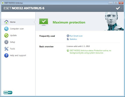 ESET NOD32 Antivirus 6.0.316 Full Key