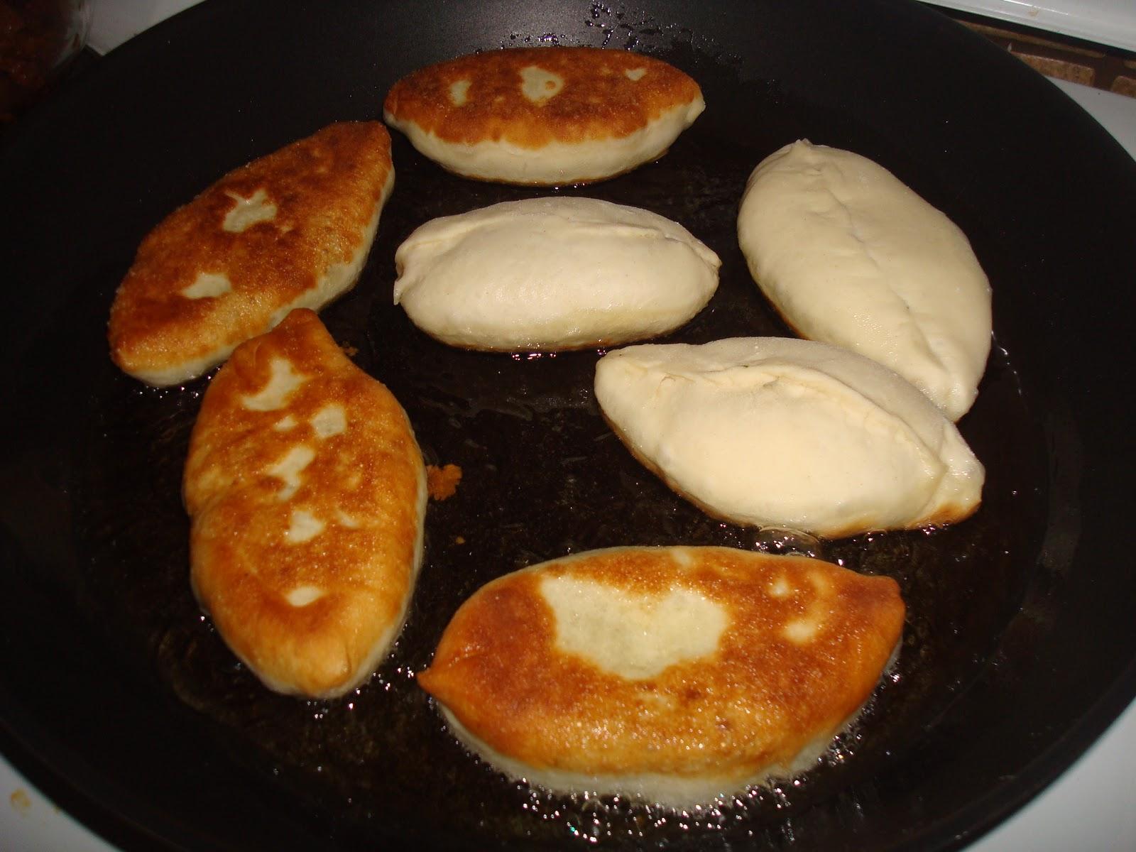 Как приготовить жаренные пирожки с картошкой на сковороде по 5
