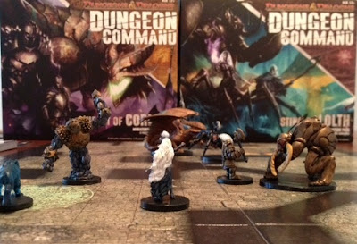 Dungeon Command game in play