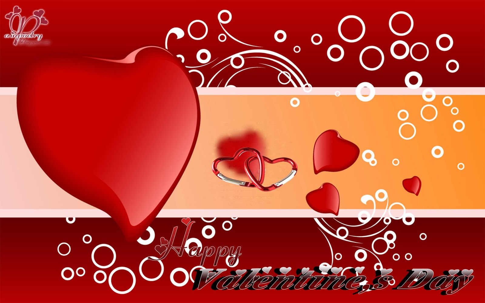 Happy-Valentines-Day-Walpaper-With-Heart-HD