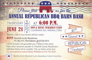 30th Annual Republican BBQ Barn Bash