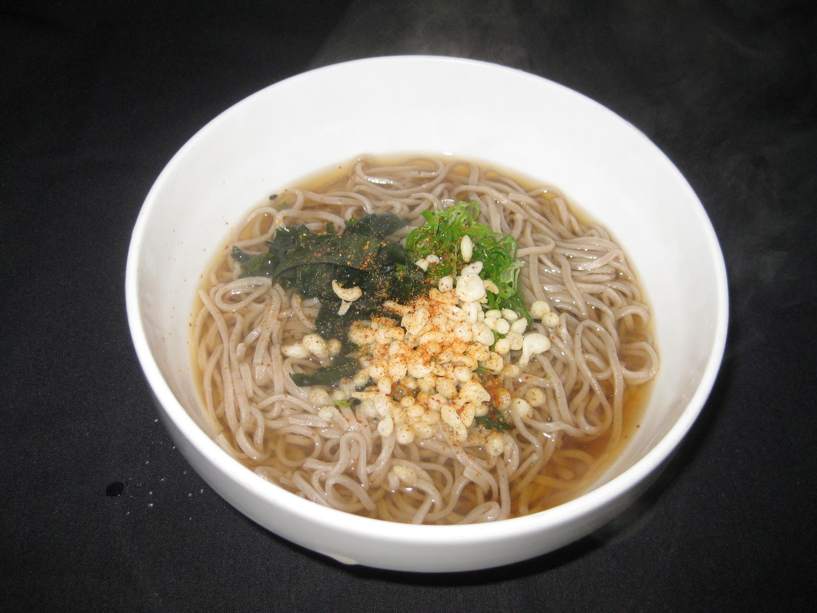 ... is our tradition, Toshi Koshi Soba, means getting over the year soba